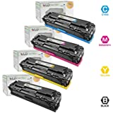 LD Remanufactured Toner Cartridge Replacement for HP 504X & 504A (Black, Cyan, Magenta, Yellow, 4-Pack)