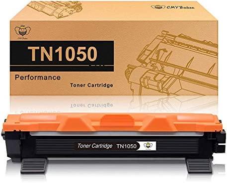 CMYBabee 1-Paquete Reemplazo para Brother TN 1050 TN-1050 Cartucho de tóner Compatible para Brother DCP-1510 DCP-1512A HL-1110 HL-1212W HL-1112 ...