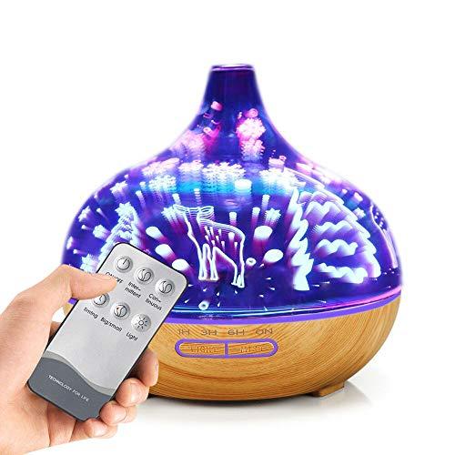 3d night light humidifier