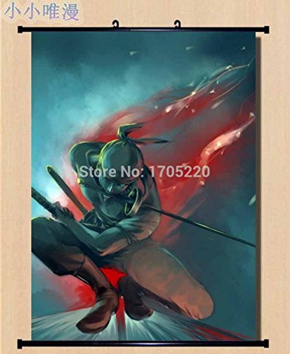 ONE PIECE ZORO Wall Scroll Poster 80X60