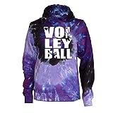 Varsity Girl Volleyball Tie Dye Sweatshirt - Volleyball Players Logo