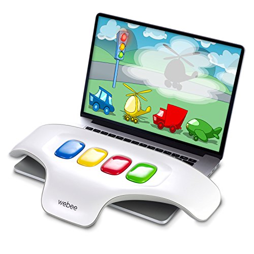 Webee World Fun Learning Center: Teaches Kids Letters, Numbers, Spelling, Writing & Creativity Through Play. Hitech Tablet Educational Toys for Children Age 1 to 5. Interactive Game Board w/ 50 Games