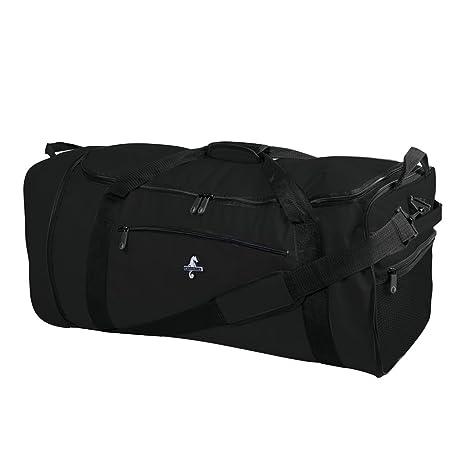 b6a4f0ca2 Atlantic Fold Away 32-Inch Wheeled Duffle, Black: Amazon.ca: Luggage & Bags