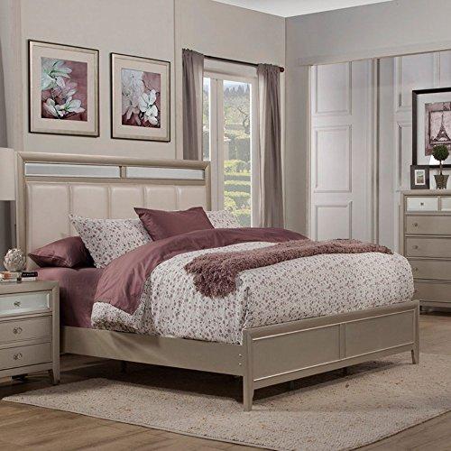 (Alpine Furniture Silver Dreams Mirror)