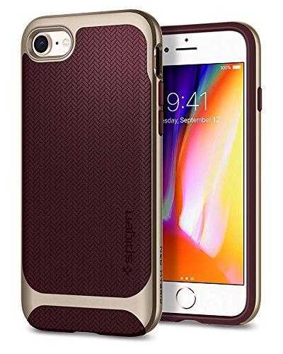 (Spigen Neo Hybrid Designed for Apple iPhone 8 Case (2017) / Designed for iPhone 7 Case (2016) - Burgundy)