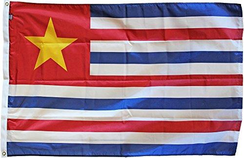 - Louisiana (CSA 1861-1865) - 3 ft x 5 ft Historic Nylon State Flag