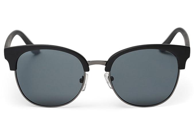 8467c060ee Amazon.com  Cheapo Vista Sunglasses - Black   Black  Clothing
