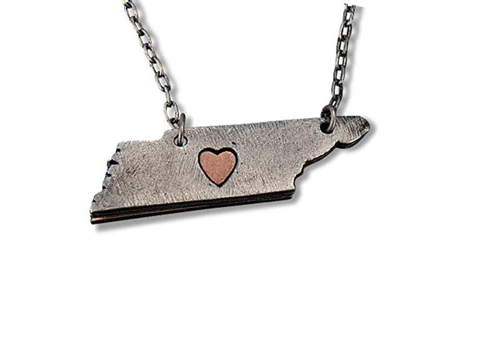 ANJU JEWELRY My Heart Belongs to Tennessee Necklace
