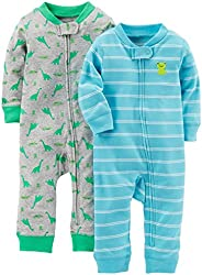 Simple Joys by Carter's Baby-Boys 2-Pack Cotton Footless Sleep and