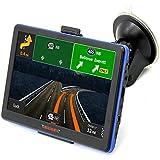 New 7 inch HD Car GPS Navigation FM 8GB/256M DDR/800MHZ 2015 Map Free Upgrade Russia/Belarus/Spain/ Europe/USA+Canada/Israel