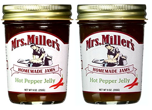 Mrs. Miller's Hot Pepper Jelly (Case of 12) by Millers