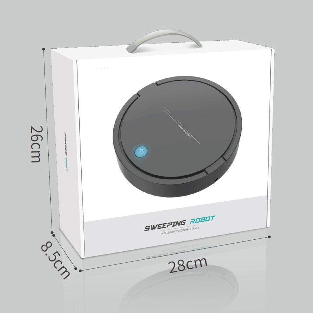8bayfa Meyeye Katem Rechargeable Intelligent Robot Aspirateur Automatique Balayer Mopping Machine Autres (Couleur: Blanc) (Color : Black) Black