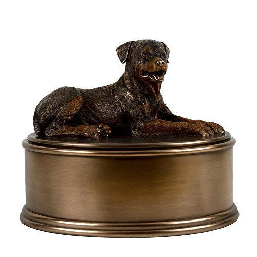 Perfect Memorials Rottweiler Figurine Cremation Urn