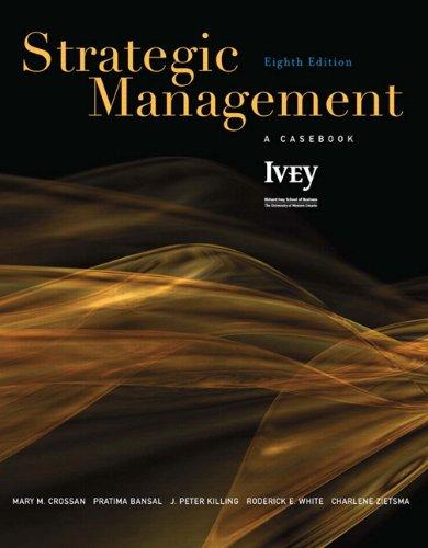 Strategic Management: A Casebook (8th Edition)