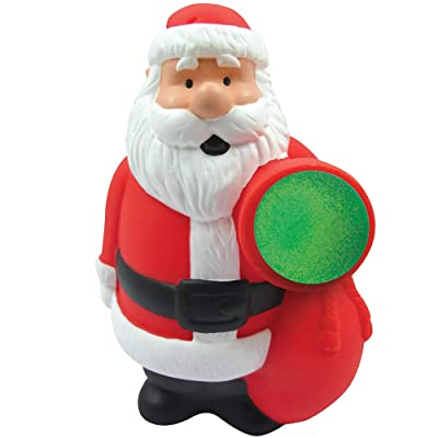 Santa Claus Popper Squeezable Shooter Holiday Fun Toy Stocking Stuffer: Toys & Games