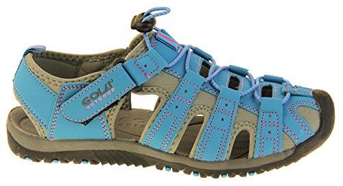 Rosa Azul Zapatos Mujer Gris Caminar Gola Y Para xB4wO6