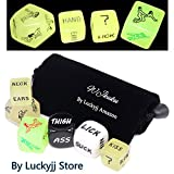 WJkuku® Funny Toy Dices for Adult Love Game By Playing Dice (Set of 6)1567