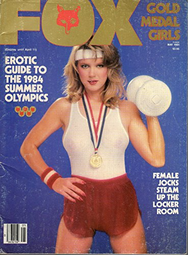 - VINTAGE FOX MAY 1984 SUMMER OLYMPIC TRIBUTE SHAUNA EVANS SPREAD
