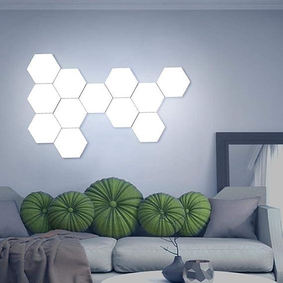 Creative Quantum lampe led Hexagonal lampes modulaire