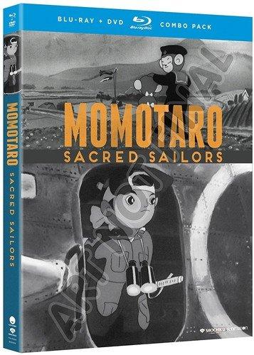 Momotaro: Sacred Sailors + Spider & Tulip Movie (SUB Only) (Blu-ray/DVD Combo) (Tulip Combo)