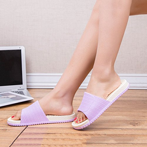 Shower Unisex FREAHAP Spa Shoes R Bathroom Massage Purple Household Sandal Slippers White qCa0q