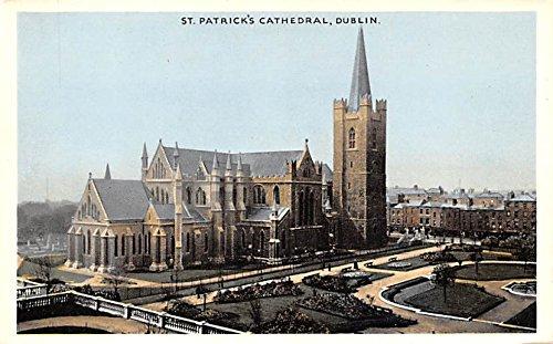 St Patrick's Cathedral Dublin Ireland Postcard
