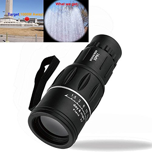 Superex Compact 16x52 Bright and Clear Range of View 65m/800