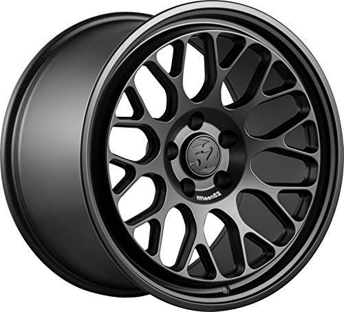 Fifteen52 FF08 Matte Black Wheel with Painted (19 x 11. inches /5 x 120 mm, 35 mm Offset)