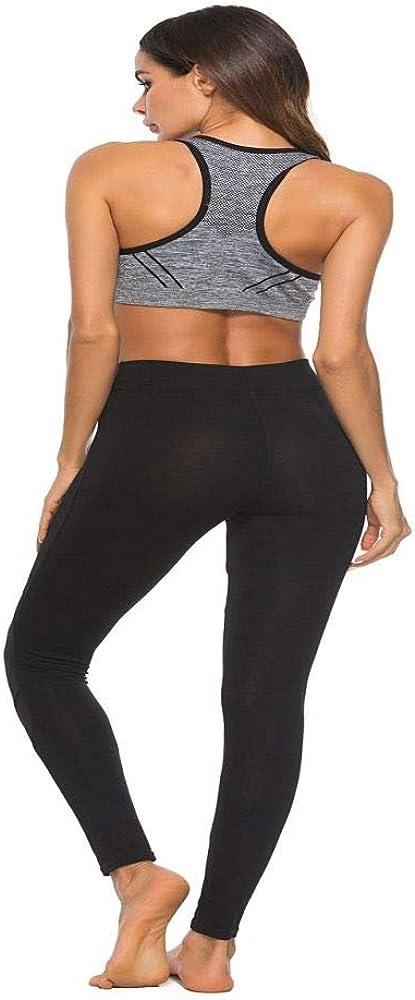 nonbranded Leggings de mujer Pantalones de yoga delgadosModa Vestido diario Moda