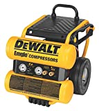 DEWALT D55154 1.1 HP Continuous 4 Gal Electric Wheeled Dolly-Style Air Compressor