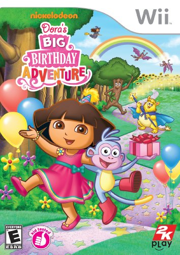 Amazon Com Dora The Explorer Dora S Big Birthday Adventure