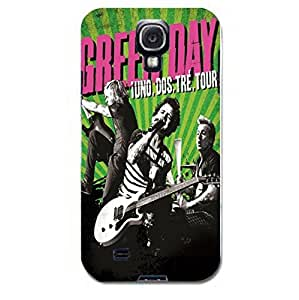Rich Singing Expression Green Day Fantastic 3D Phone Case For Samsung Galaxy S4 I9500