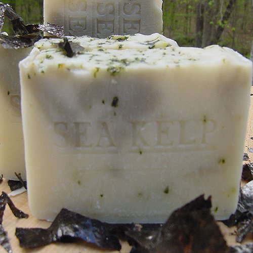 Sea Kelp Varech with Organic Cocoa Butter Excellent Facial (*Unscented Soap)