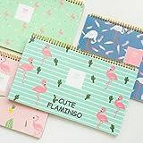 Caveen Standing Desk Calendar 2018 Fun Flamingo Daily Weekly Monthly Desktop Agenda Planner Creative Cute Standing Calendar For Home Office Using Dark Blue