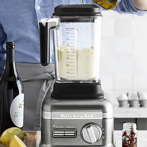 KitchenAid Pro Line Blender Updated Model with NEW Three Pre-Set Adapti-Blend Functions (Smoothies, Juices, and Soups), Exclusive Thermal Control Jar, Die-Cast Metal Base, and Flex-Edge Tamper