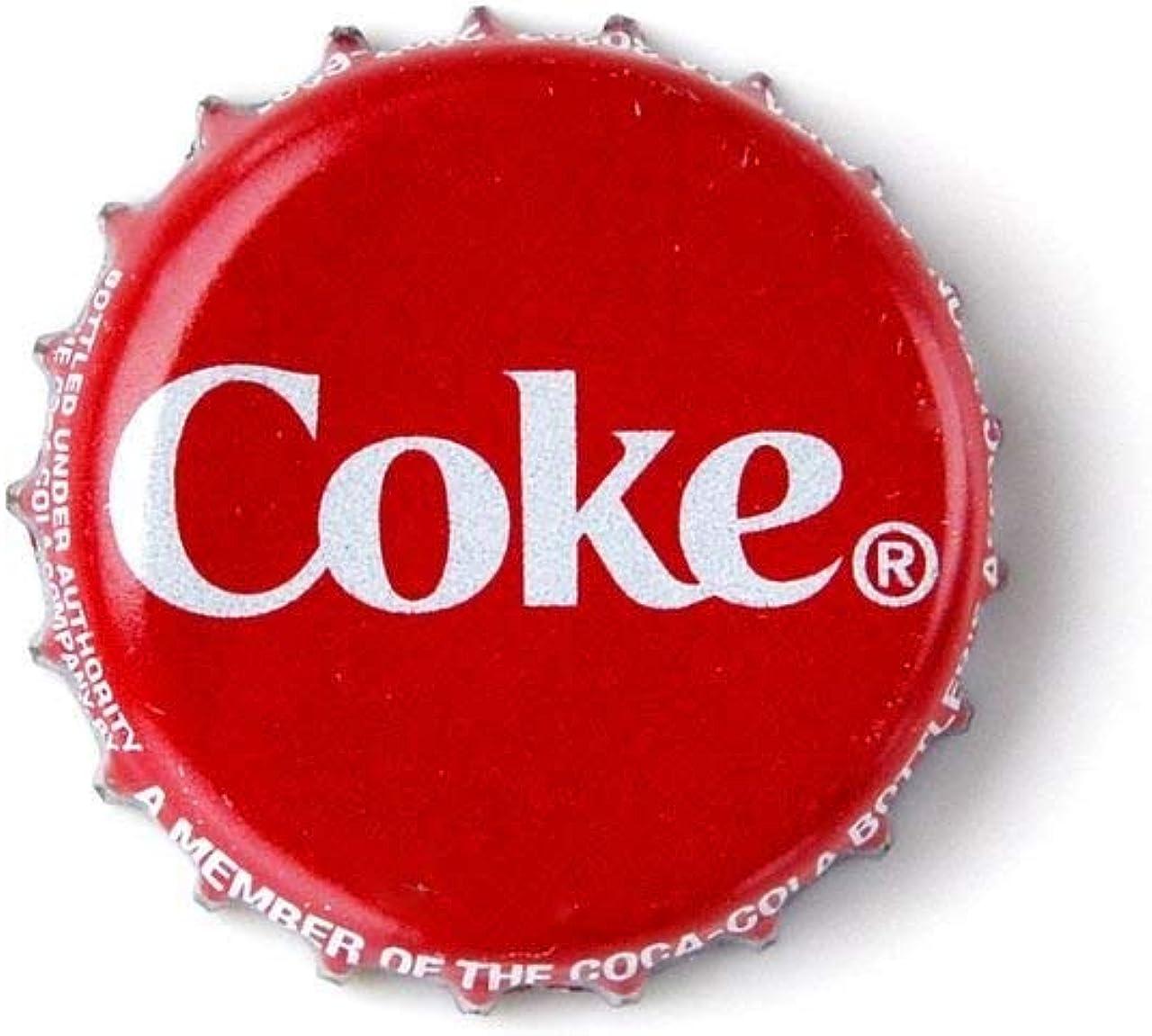 Quality Handcrafts Guaranteed Coke Bottle Cap Lapel Pin