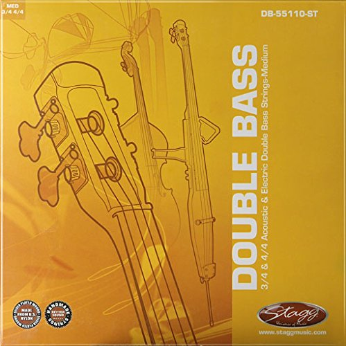 (Stagg DB-55110-ST Double Bass String Set for 3/4 and 4/4)