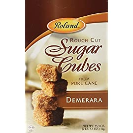 Roland Rough Cut Demerara Sugar 1 35-ounce package Perfect for beverages, it also has many bakery applications, especially as a crunchy topping Kosher approved