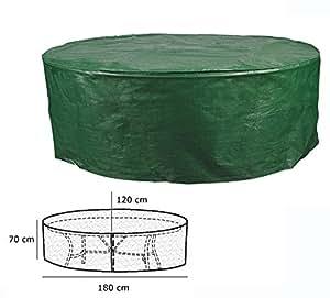 Woltu funda lona cubierta, tejido muebles de jardín Lona Funda Protectora Impermeable
