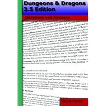 Dungeons & Dragons 3.5 Edition: Questions and Answers
