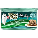 Cheap Purina Fancy Feast Medleys Tuna & Shrimp Recipe With Wild Rice In Gravy Adult Wet Cat Food – 3 Oz. Cans ( Pack Of 24)