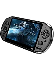 X12 Handheld Game Console 8G 32/64/128 Bit HD Color LCD Screen 3000 Games Kid Video Retro Portable Handheld Game Player on TV