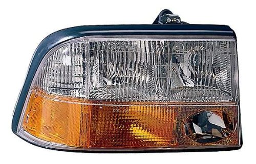 Depo 332-1166L-AS GMC/Oldsmobile Driver Side Replacement Headlight Assembly