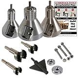 Lumberjack Tools 3-Piece Industrial Series Master Kit (ISK3)