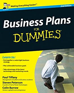 Business Plans For Dummies by [Tiffany, Paul, Peterson, Steven D., Barrow, Colin]