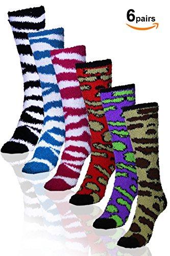 Zebra Knee Socks - 2
