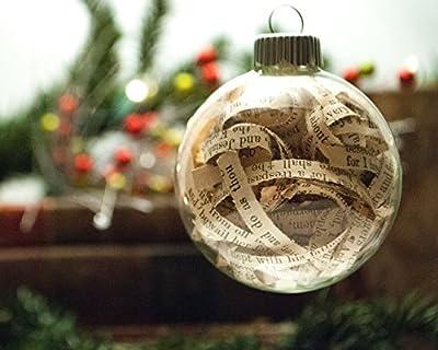 Vintage Bible Christmas Ornament