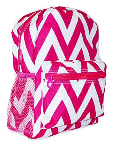 Ever Moda Mini Backpack Collections (Pink Chevron)
