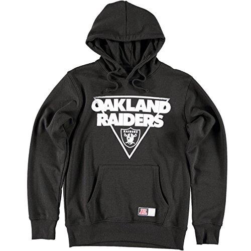 high-quality Sudadera NFL Majestic  Oakland Raiders Crew BK ... 81ca80d0276