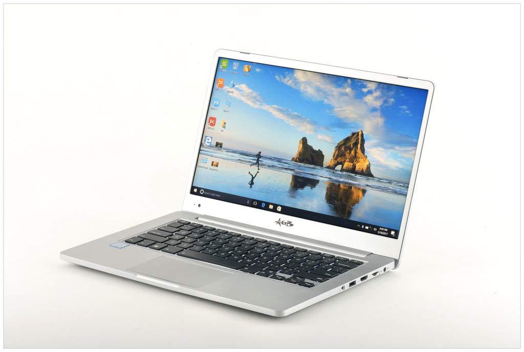 """AGB Orion ZQ-2501 14""""Laptop (7th Generation Intel Core i7-7500U / 8GB RAM / 512 SSD / 1TB HDD / Intel Integrated 620 DDR 4 / Win 10 Pro / Aluminium Body"""